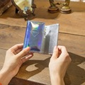 Hologram Sliver Laser Women Key Case Bag Key Wallet Purse Bag keysmart Holder Key Chain With Card Holders Fashion 6 Key Rings