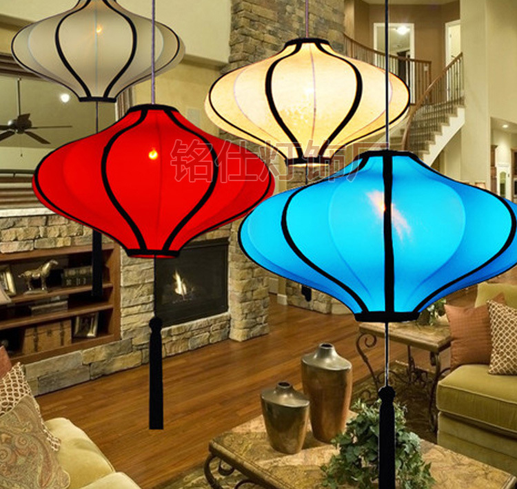 ФОТО Chinese style pendant light Chinese style restaurant clubhouse hotel box living room decorative arts light
