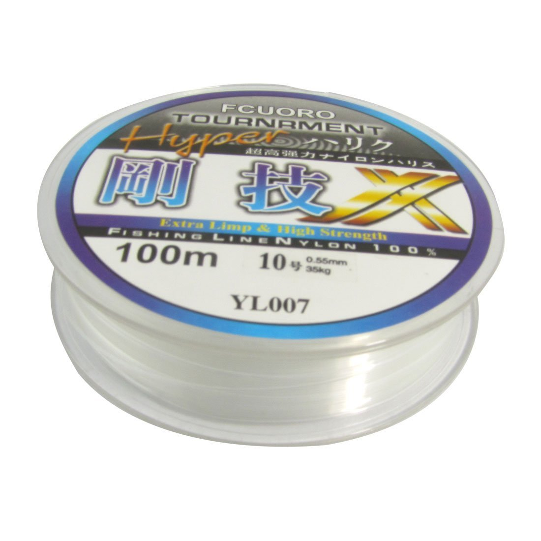 SEWS-100m 0.55mm Diameter Clear Fsing Thread 23Kg 77.1lb Fishing Line Spool