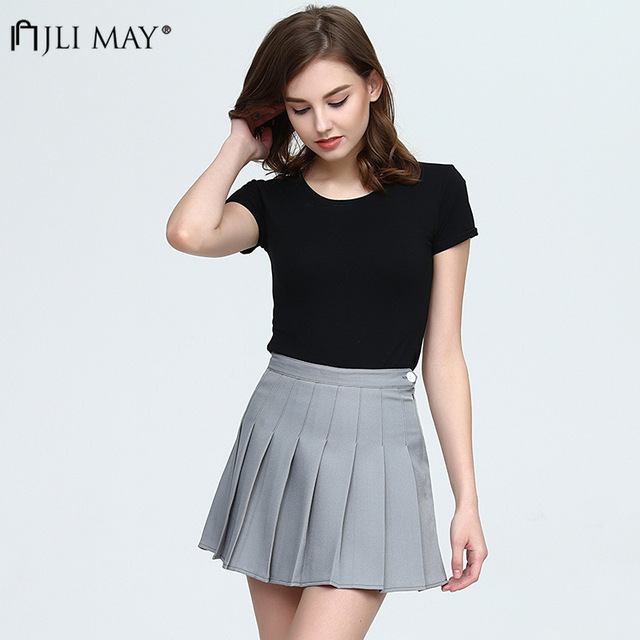 Midi Skirt High Waist Elascity Casual Party