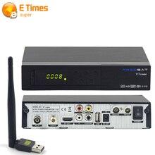 Freesat V7 Con 1 unids WIFI DVB-S2/T2 HD TV vía satélite No Poder Youtube CCcam Newcamd VU receptor soporte IPTV Libre gratis