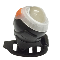 USB Bike Cree LED Two Flashing Light Dual Color Cycling Bicycle Safety Warning Rechargeable Flash Rear