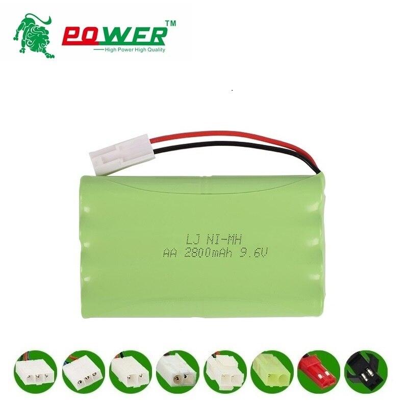 9,6 V 2800mAh juguetes de Control remoto juguete eléctrico instalaciones de seguridad juguete eléctrico AA 9,6 v batería recargable NI-MH grupo de baterías 7 Uds NI-MH 14,4 V batería de alta calidad 3500mAh para panda X500 batería para Ecovacs Mirror CR120 aspiradora para dibia X500 X580