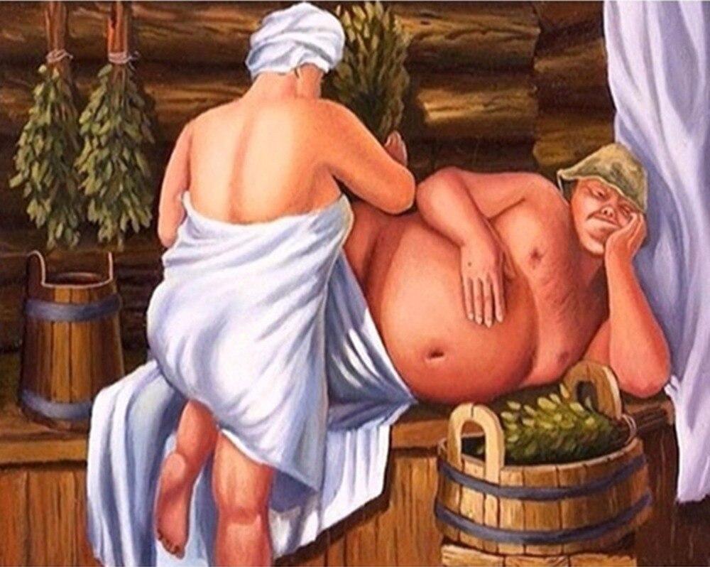Смешные картинки про сауну и баню