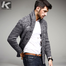 Winter Mens Casual Thick Sweaters 100% Cotton Knitted Cardigan Knitting Brand Clothing Man Knitwear Sweatercoats Tops