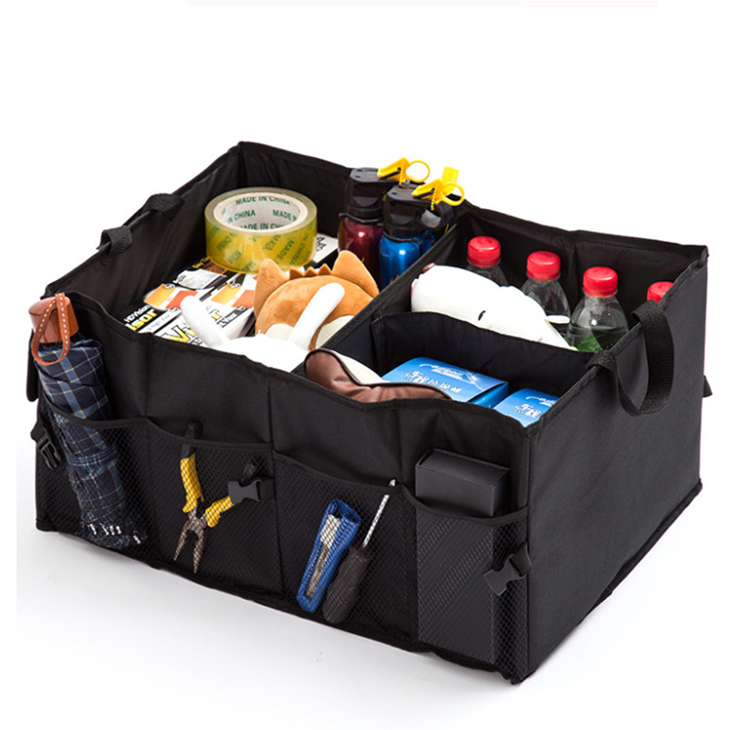 car storage box multifunction For Volkswagen VW Golf 6 Golf 7 Mk6 Mk7 Passat B5 B6 CC Tiguan Polo Bora Jetta JAC BMW Car Styling car seat cushion three piece for volkswagen passat b5 b6 b7 polo 4 5 6 7 golf tiguan jetta touareg beetle gran auto accessories