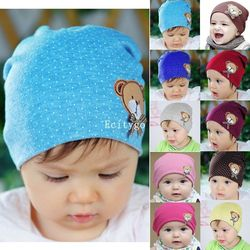 2017 newborn cute baby hat photography props infant toddler girl boy baby cap cute polka dot.jpg 250x250