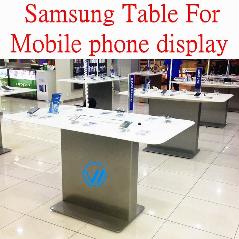 Exhibition Display Table : Newly high quality baking varnish display table for