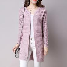 Solid Color Hollow Out Sweaters