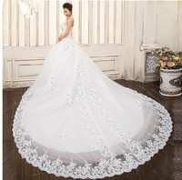White Bandage Court Train Wedding Dresses Bridal Gown Custom Vestido De Noiva Curto Julie Vino TK207