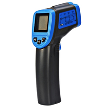 New Style Digital Thermometer ST600 IR Infrared Non-Contact Laser LCD / Temperature Meter Gun(-32~600 Degrees Celsius)