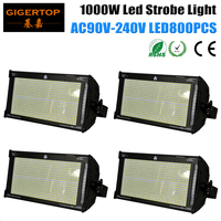 Gigertop TP S1000 1000W White Color 5050SMD Stage Led Strobe Light New Design Power Con Socket Power IN/OUT 800 x 1.2W White Led