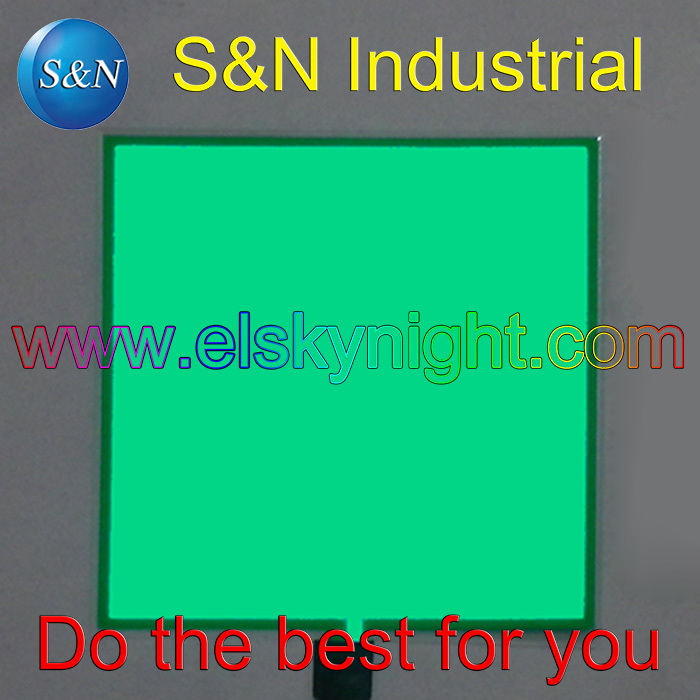 DC12V Grass Green 10X10CM El Sheet El Panel For Car,house,party,dispaly,holiday,festival And Model Decoration Free Shipping