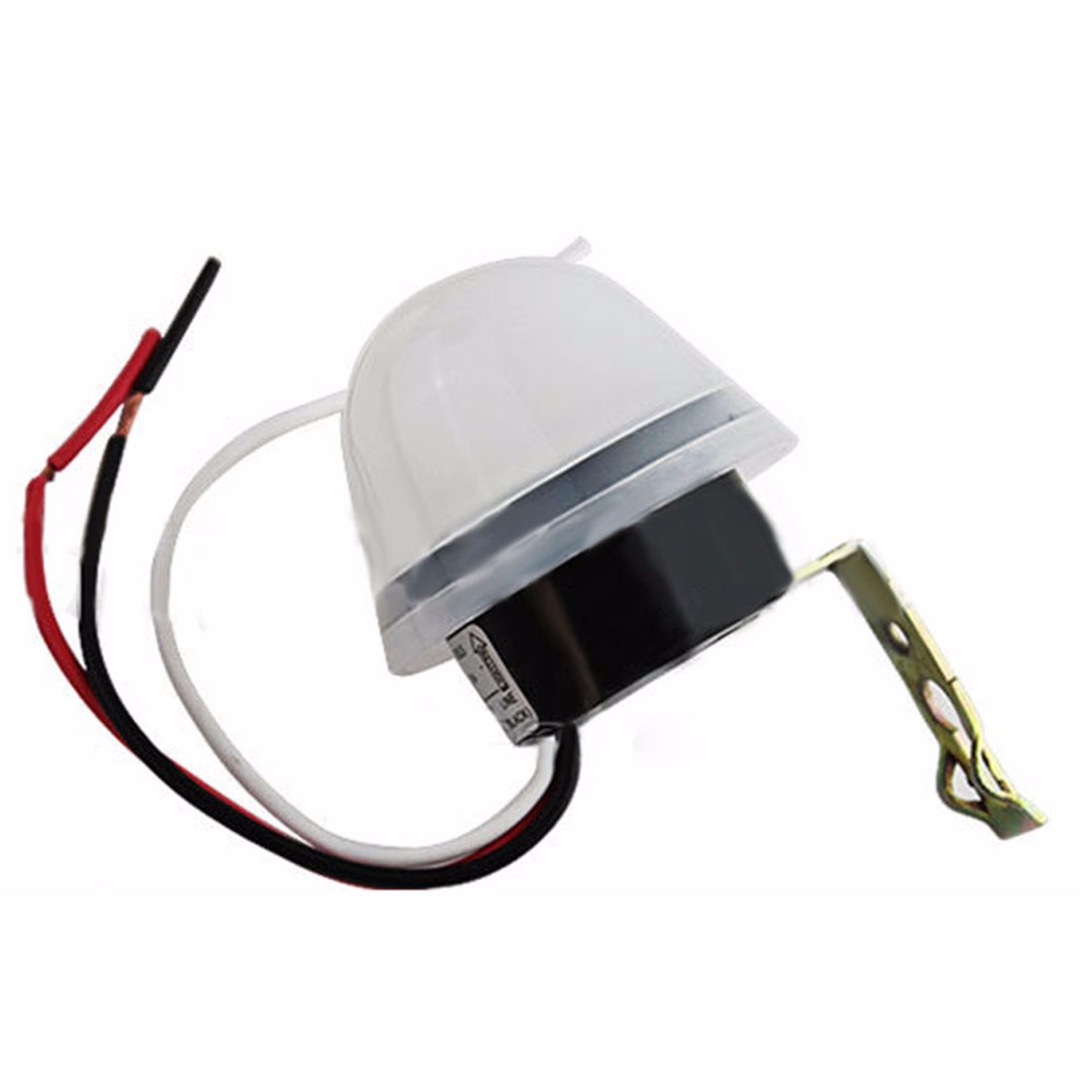 Automatic Light Sensor Photo Control Switch Mayitr Relay Photoswitch 180-240V for Outdoor Street Llighting Lamp LED Lights adjustable ac 220v 25a automatic light sensor detector switch photoelectric photo switch sensor control switch outdoor 50hz