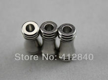 Free shipping ! Cylindrical Magnetic buckle clasp for jewelry making supplies with ending hole 3mm