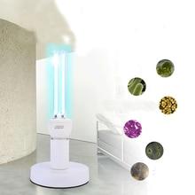 Portable Coop US EU adapter UV ray quartz light bulb disinfection ozone sterilizer lamp home hospital kill mite ultraviolet remote comtrol kit