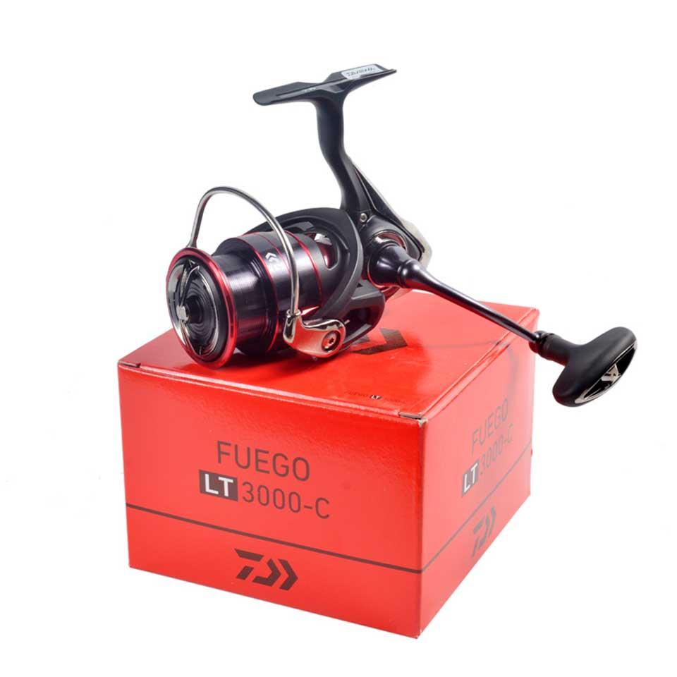 DAIWA Fishing Spinning Reel FUEGO LT 1000D-6000D Fishing Reels 5KG/10KG/12KG Power 5.1:1/5.2:1/5.3:1 Seawater Spinning Reels