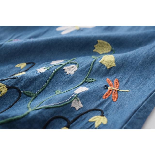 Floral Patterned Girl's Dress