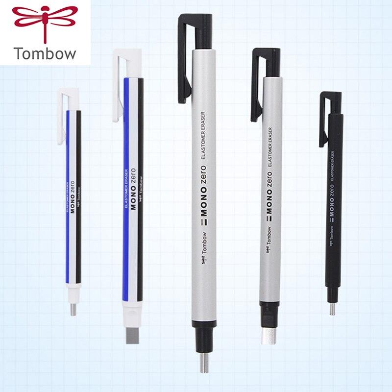 TOMBOW MONO Zero Ultrafine Pencil Rubber Perfect Revise Details/Highlight For Manga Design Round/SquareToe Elastone Eraser цена