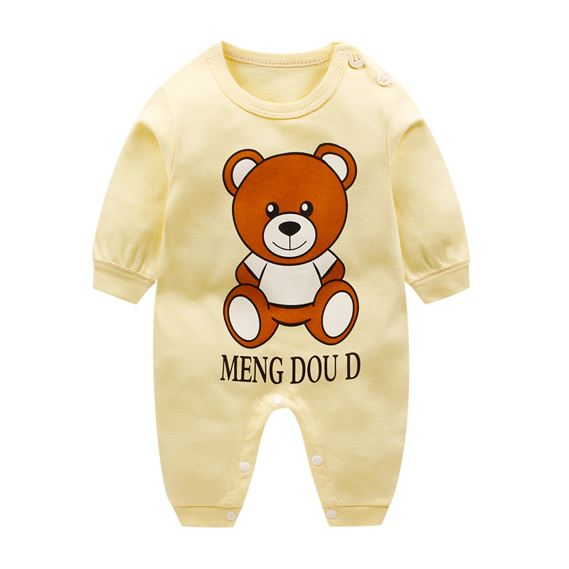 HTB1CZR1u21TBuNjy0Fjq6yjyXXaO Newborn baby clothes 100% Cotton Long Sleeve Spring Autumn Baby Rompers Soft Infant Clothing toddler baby boy girl jumpsuits