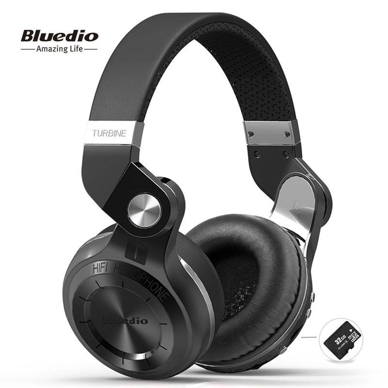Bluedio T2plus  Shooting Brake  Bluetooth stereo headphones wireless headphones Bluetooth 5 0 headset over the Ear headphones