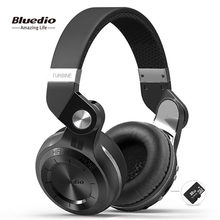 Bluedio T2plus (freno de disparo) auriculares estéreo Bluetooth auriculares inalámbricos Bluetooth 5,0 auriculares de música(China)