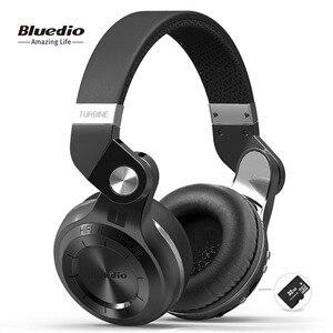 Bluedio T2plus (Shooting Brake) Bluetooth stereo headphones wireless headphones Bluetooth 5.0 headset over the Ear headphones(China)