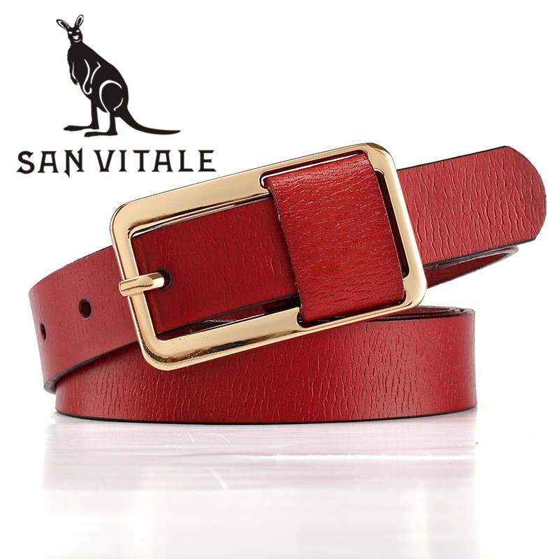 Belt   For Women   Belts   Genuine Leather Cheap Straps Elastic High Quality Suspenders Designer Casual Clothing Accessories Apparel