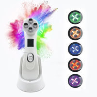LED Photon Skin Rejuvenation EMS Mesotherapy Electroporation Facial RF Radio Frequency Skin Care Tighten Lifting Massage