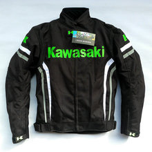 Moto gp for Kawasaki racing suit locomotive waterproof shatter-resistant warm windproof cycling clothing motorcycle Road driving