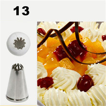 Ice Cream Nozzles Pastry Cake Decorating Tools Icing Piping Nozzle Tips Cupcakes Baking Bakeware Making