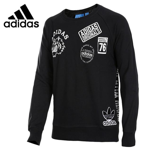 0718c5f1e14 Adidas Originals Original Nova Chegada Pulôver Camisola dos homens  Sportswear