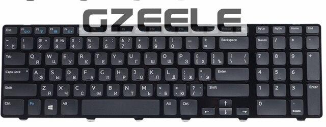 Rusa Del Teclado para DELL 17R 3721 3737 17R-5721 N3721 N5721 5721 5737 5357 M731R 5735 V119725BS1 RU teclado del ordenador portátil