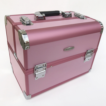 High Quality Cosmetic Case Multi-layer Professional Makeup Organizer Box Portable Cosmetic Travel Bag Cosmetics Tool Box Bin