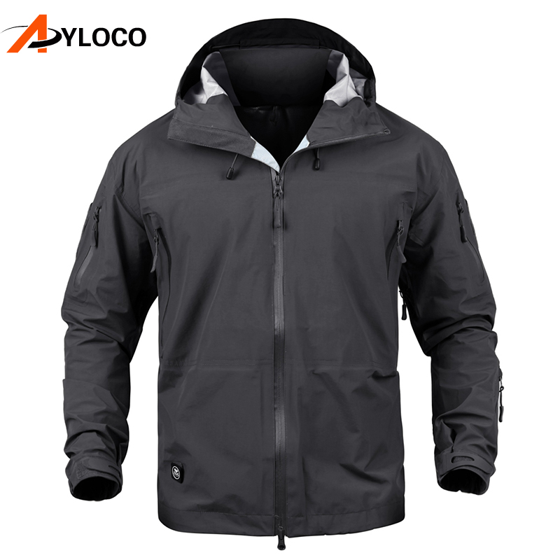Men Military Jacket Coat Autumn Tactical Jacket Spring Waterproof Hard Shell Hunt Jackets Army Windbreaker Clothes tactical gear soft shell camouflage outdoor jacket men army waterproof hunting clothes sport windbreaker military jacket coat