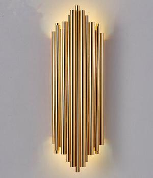 Nowoczesne żelazko ścienne lampa LED salon w stylu art Deco dania kuchni dekoracja przemysłowa lampa domowa nowoczesne lampa dwustronna na świeżym powietrzu