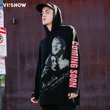 VIISHOW Men Sweatshirts Brand Clothing Harajuku Sweatshirt Men Hoodie Sweatshirt Hooded Printed Outwear WD1397171