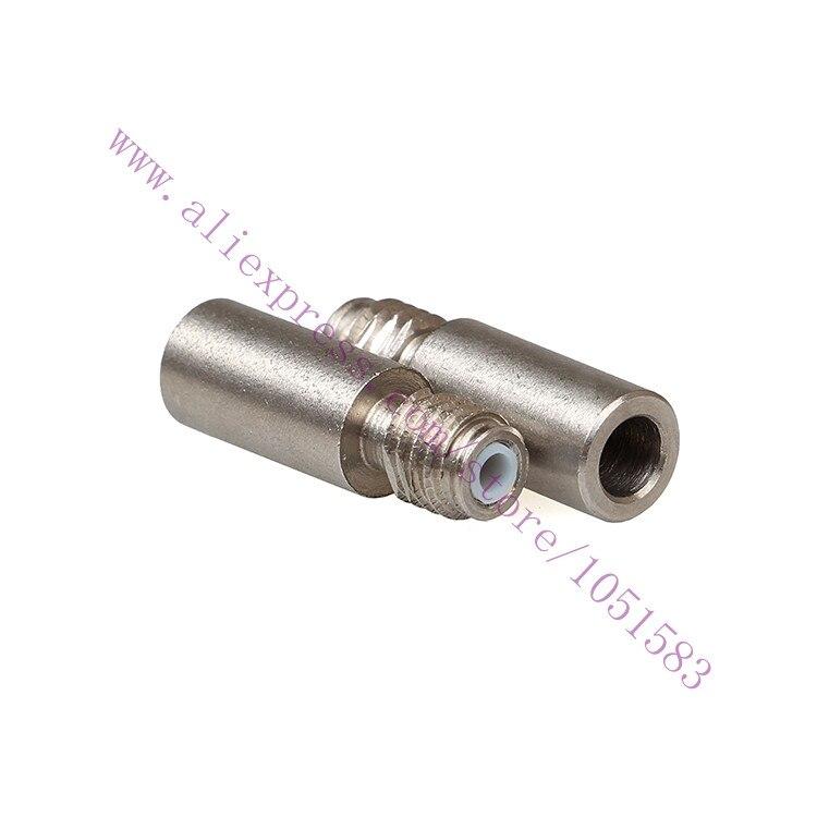 5 шт./лот цилиндр с подкладкой из ПТФЭ оригинальная Оптимизированная версия теплового разрыва для 1,75 мм циклопс 2 в 1 выход Hotend детали для 3D-пр...