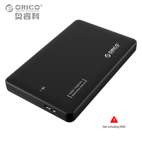 Hot ORICO 2599US3 2 5 Hdd Enclosure Sata To USB 3 0 External Free Tool Hdd