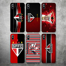 Yinuoda Sao Paulo Futebol Clube Phone Case Picture For Hernanes Silicon Soft TPU Cover iPhone X XR XS MAX 7 8 7plus 6 6S 5