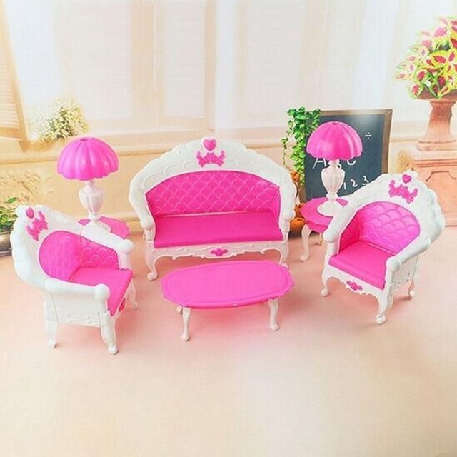 6pcs/lot Lovely Cartoon Princess Kids Toys Dolls Accessories Doll ...