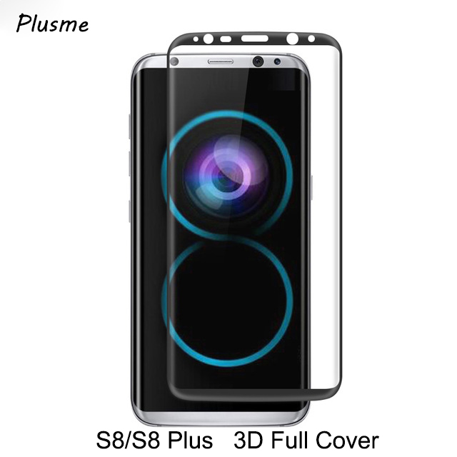 For Samsung S8 Glass Galaxy S8 Plus Tempered Glass 3d