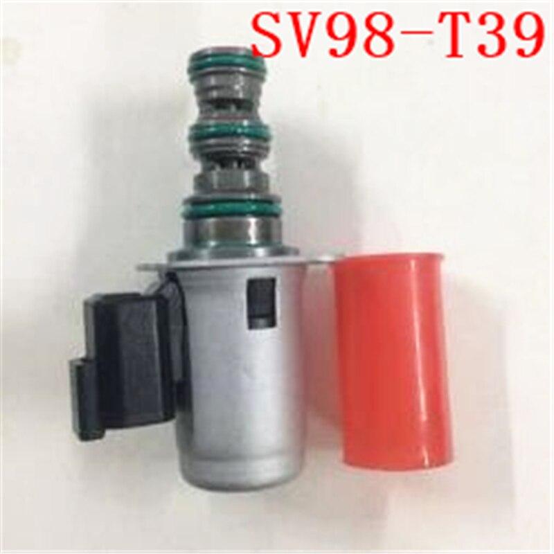 Электромагнитный клапан SV98 T39 12V для ЭКСКАВАТОРА CAT гусеницы CT60/CT80 SV98 T3917S SV98 T39