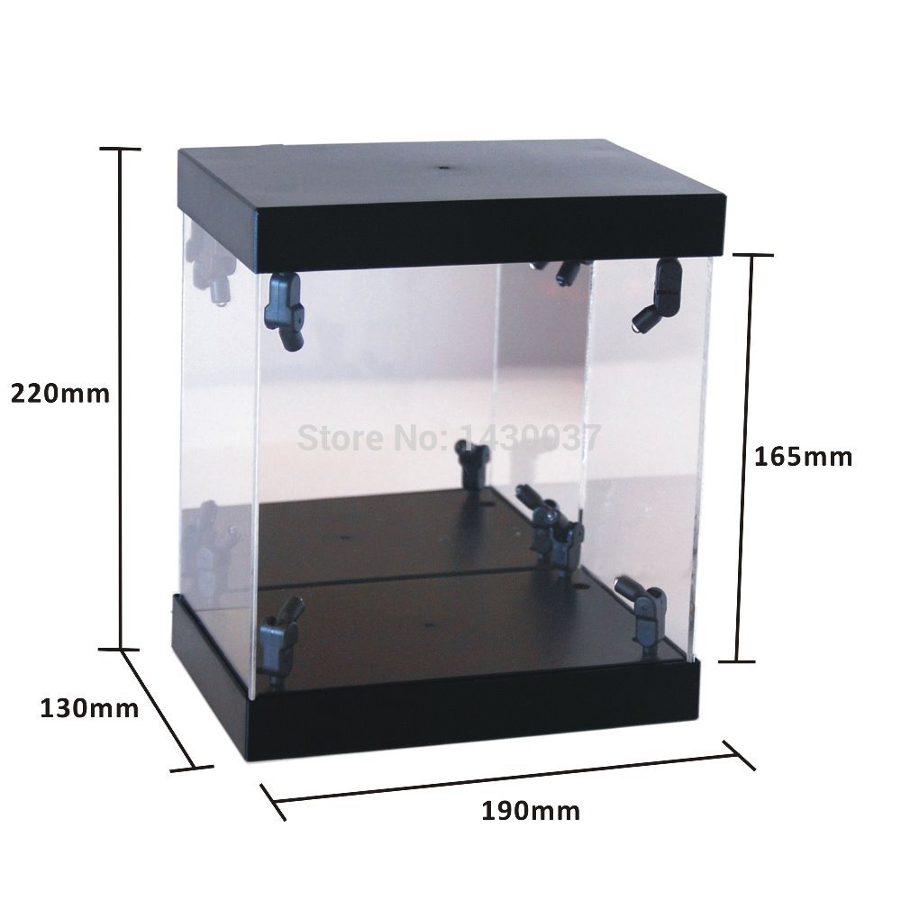 Unique MB Display Box Acrylic LED Light House for collectible dolls  NO09