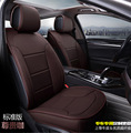 2016 new arrival 5 pcs 1 set natural leather car seat cover cushion cowhide leather car seat covers cushion simple comfortable