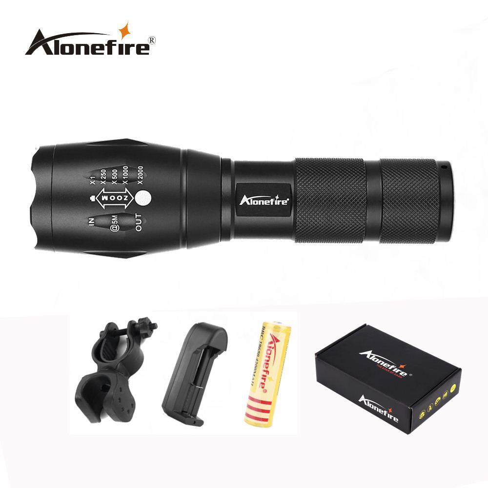 AloneFire E17 CREE T6 LED Flashlight Zoomable LED Torch 3800lm led Focus zoom light for 18650 Rechargeable Battery led cree q5 free shipping waterproof led flashlight lamp torch adjustable focus zoomable 600lm for 18650 rechargeable battery