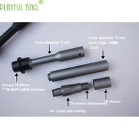 MAKS concave and convex tube water bullet gun fittings BD556 water projectile TTM casing MGP nylon casing standard tube M07