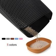 Pet Bed Waterproof Cat Litter Mat EVA Foldable Double Layer Non-slip Floor Grooming