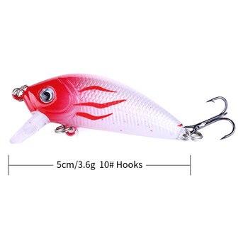 Amazing HENGJIA Minnow Fishing Lures 5cm 3.6g Fishing Lures cb5feb1b7314637725a2e7: 1 2 3 4 5 6 7 8 9