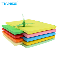 TIANSE A4 Color Copy Paper 11 Color With White For Printing Document Double Side Color Paper